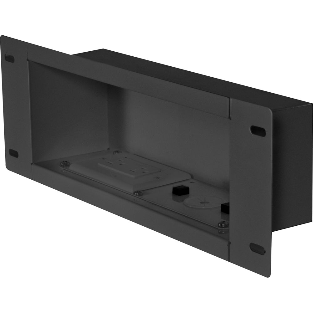 Rless Av Iba3ac Recessed Cable, Cable Box Storage Cabinet