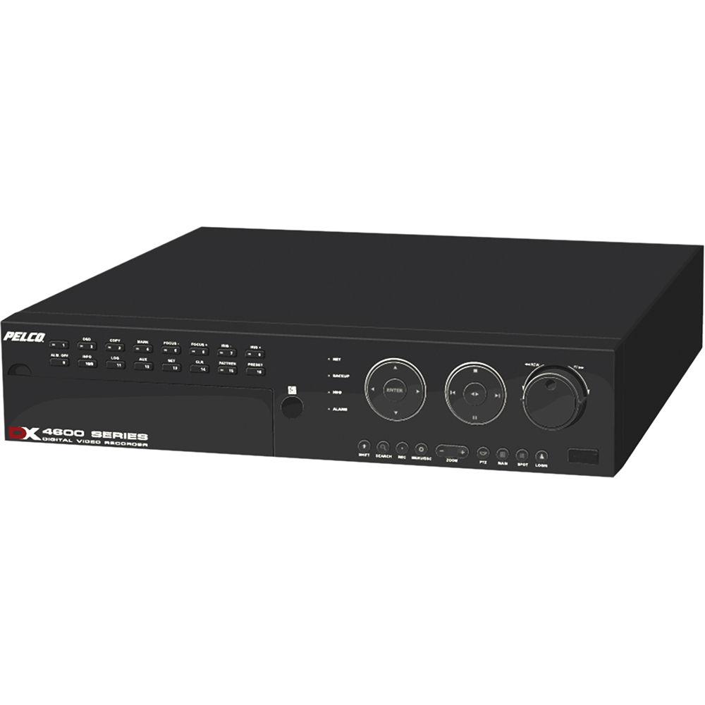 pelco dx4600 8 ch 4tb digital video recorder dx4608dvd 4000 b h rh bhphotovideo com