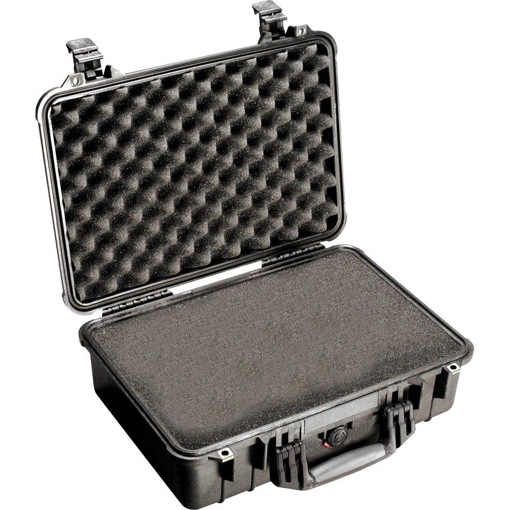 pelican 1500 case with foam black 1500 000 110 b h photo video. Black Bedroom Furniture Sets. Home Design Ideas