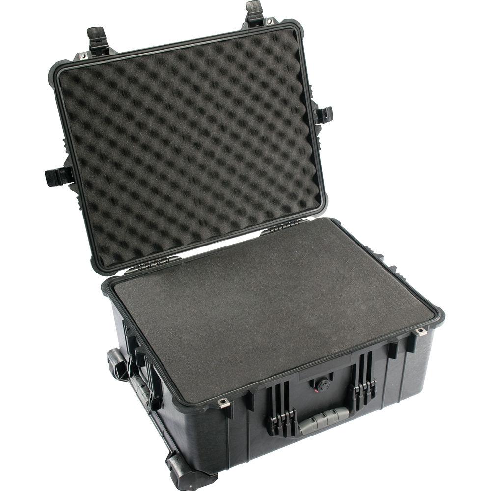 pelican 1610 case with foam black 1610 020 110 b h photo video. Black Bedroom Furniture Sets. Home Design Ideas