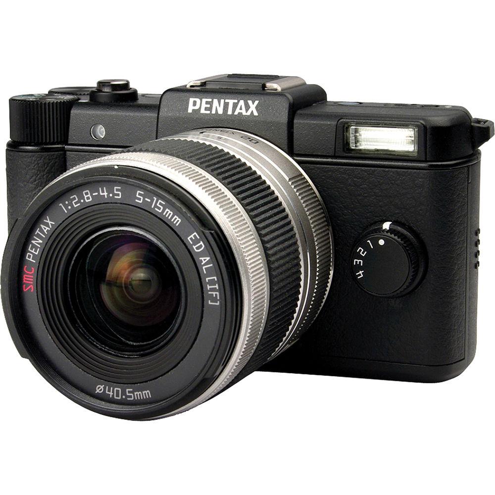 pentax q digital camera with 5 15mm lens black 15100 b h photo rh bhphotovideo com  pentax km manuel