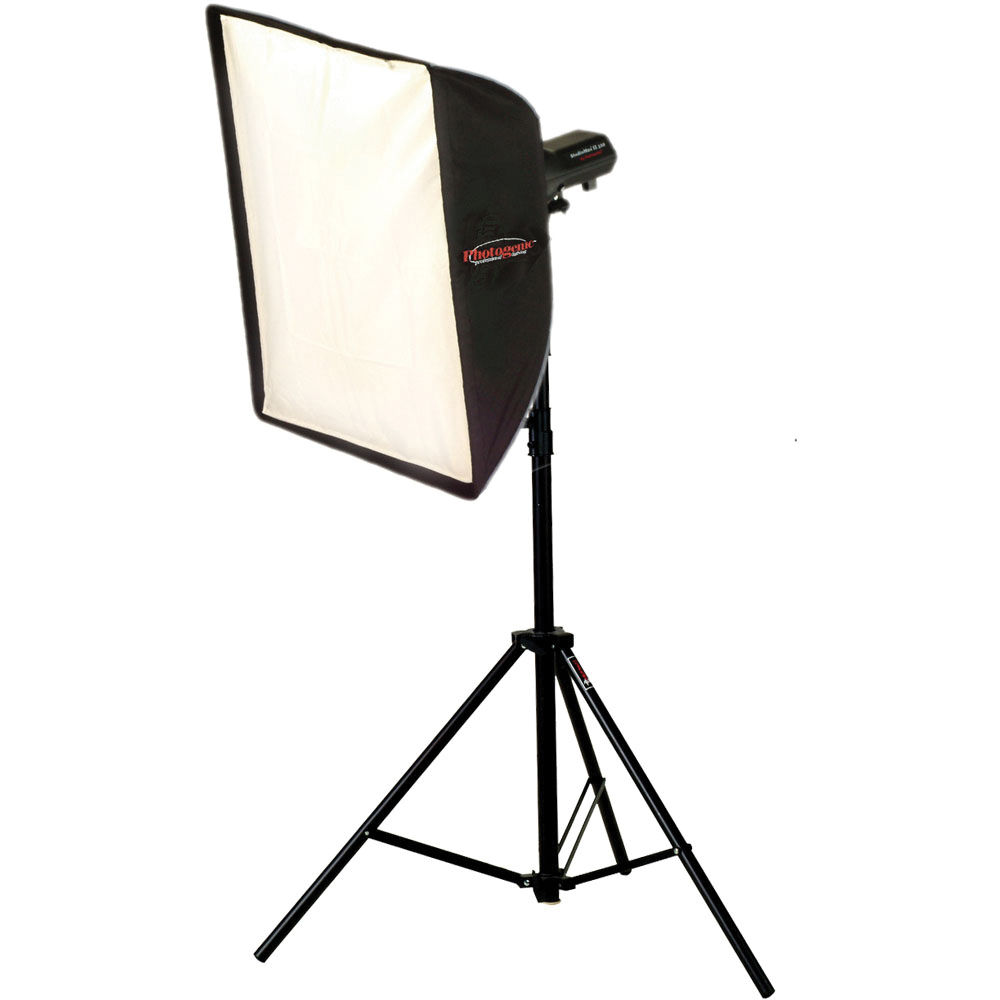 Photogenic StudioMax III Softbox Kit (120V) 956192 B&H Photo