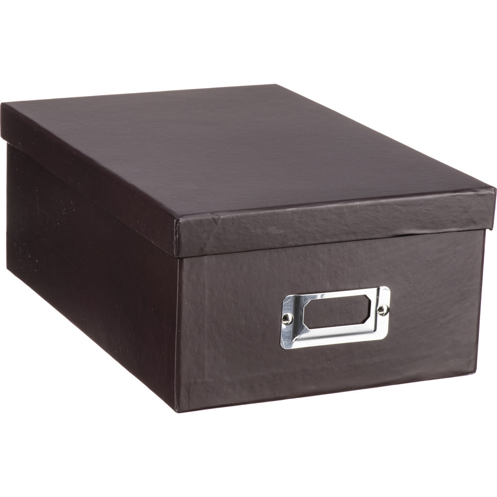 Pioneer Photo Albums B1S-DB Deluxe Photo Storage Box (Dark Brown): www.bhphotovideo.com/c/product/824016-REG/Pioneer_Photo_Albums_B1S...