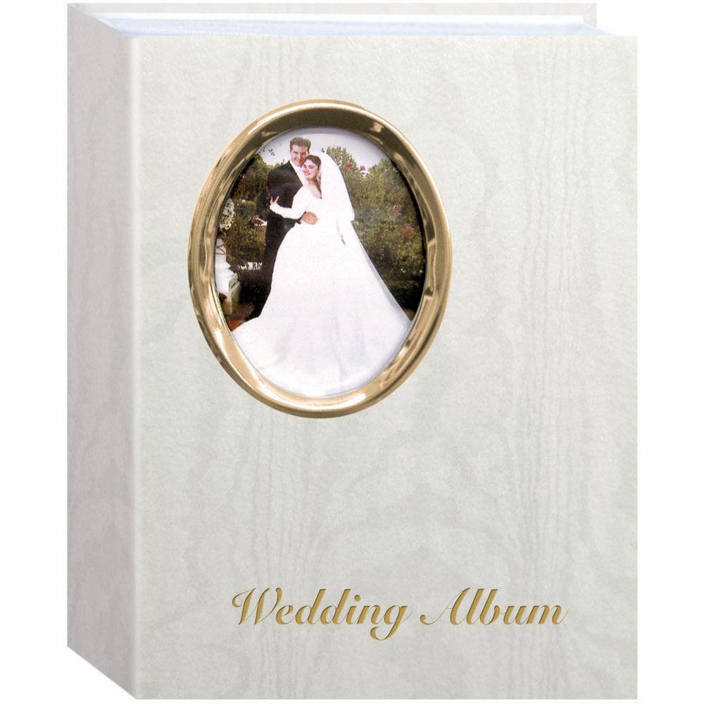 Pioneer Photo Albums Oval Framed Wedding Album - 4 x WAF46/GT