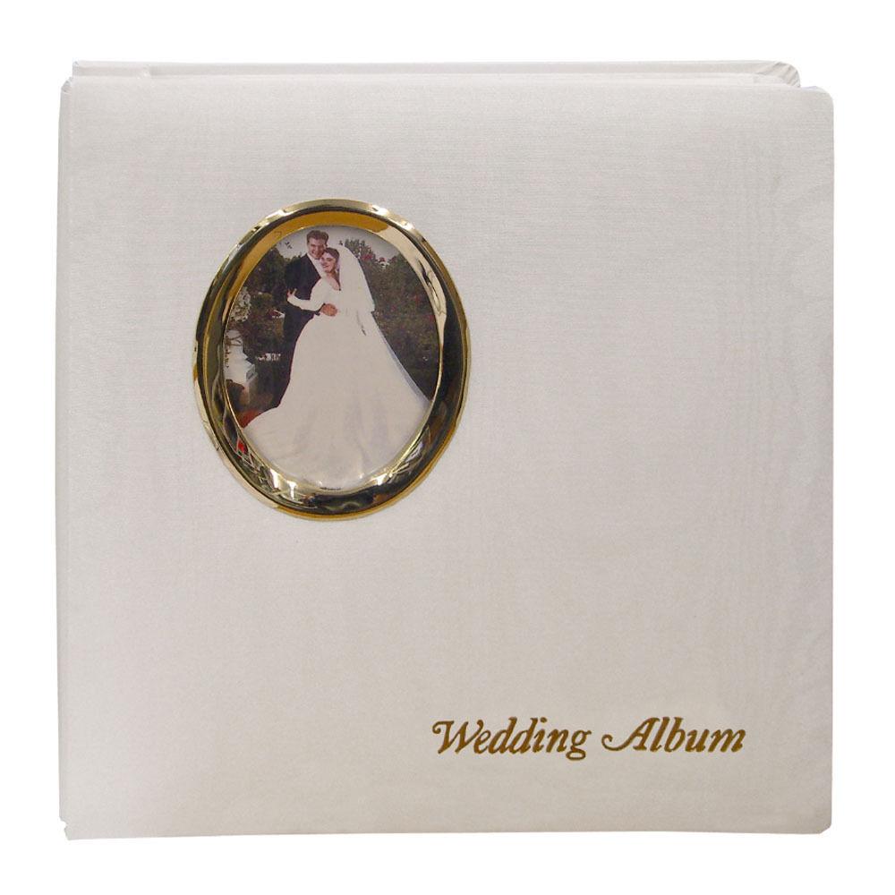 Pioneer Photo Albums WF5781-GT Oval Framed Wedding WF5781-GT B&H
