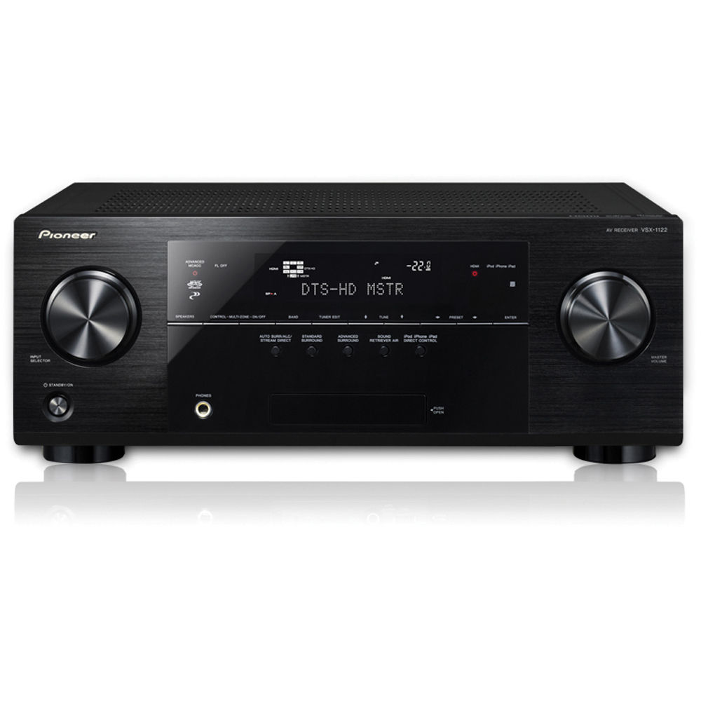 pioneer vsx 1122 k 7 2 channel 3d ready a v receiver vsx 1122 k rh bhphotovideo com Pioneer VSX 1120 K pioneer vsx-1122-k specifications
