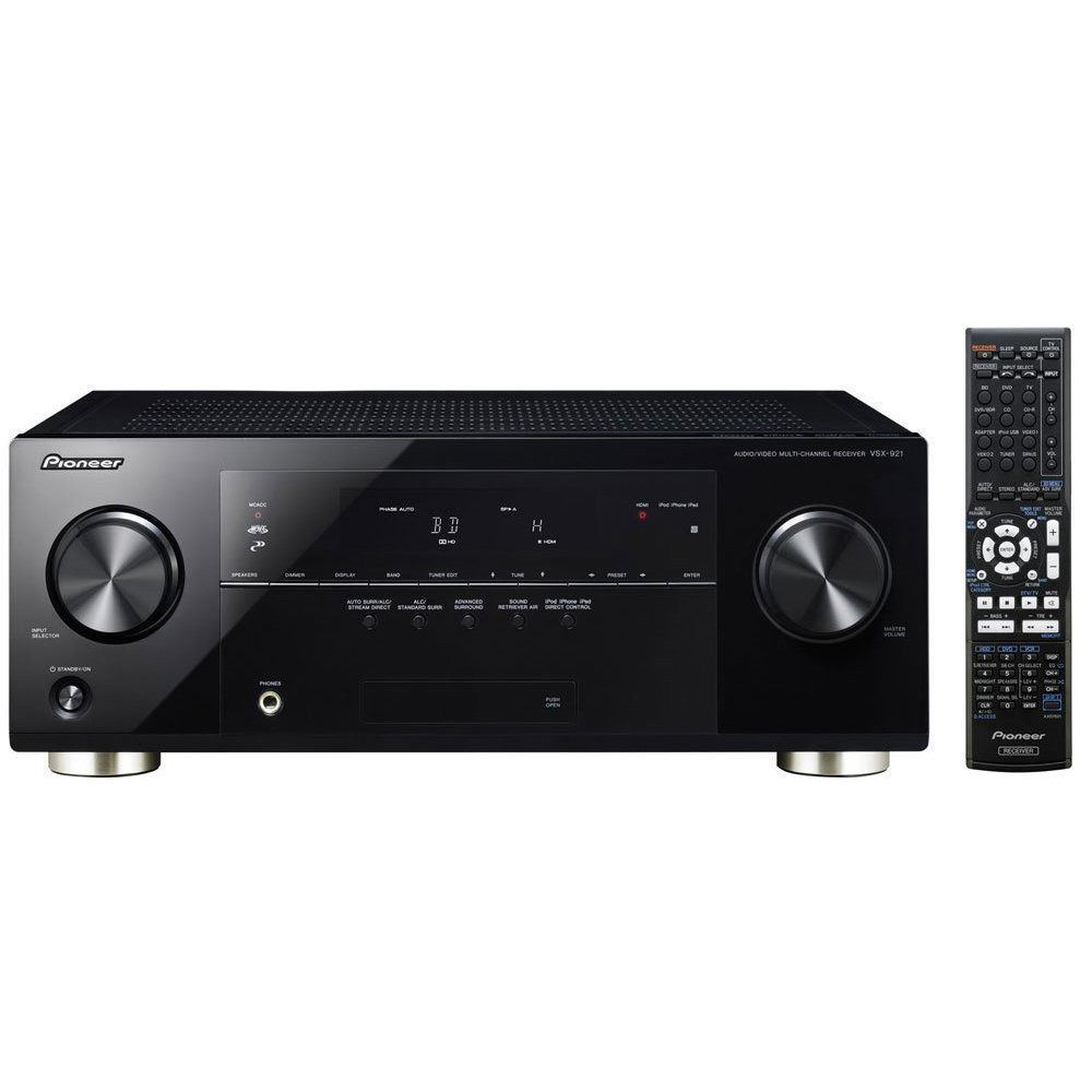 Pioneer VSX 921 K 71 Channel 3D Ready A V Receiver