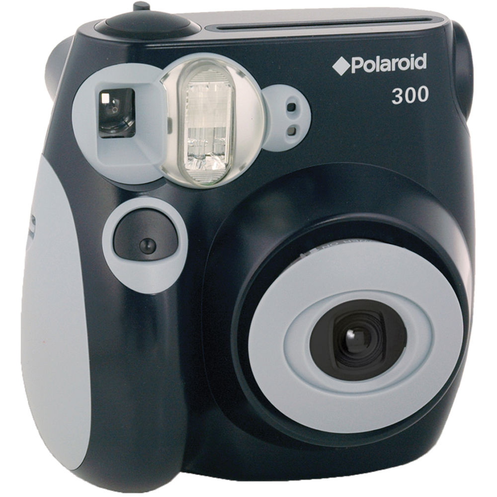 Polaroid 300 Instant Film Camera (Black) POLPIC300BK B&H Photo