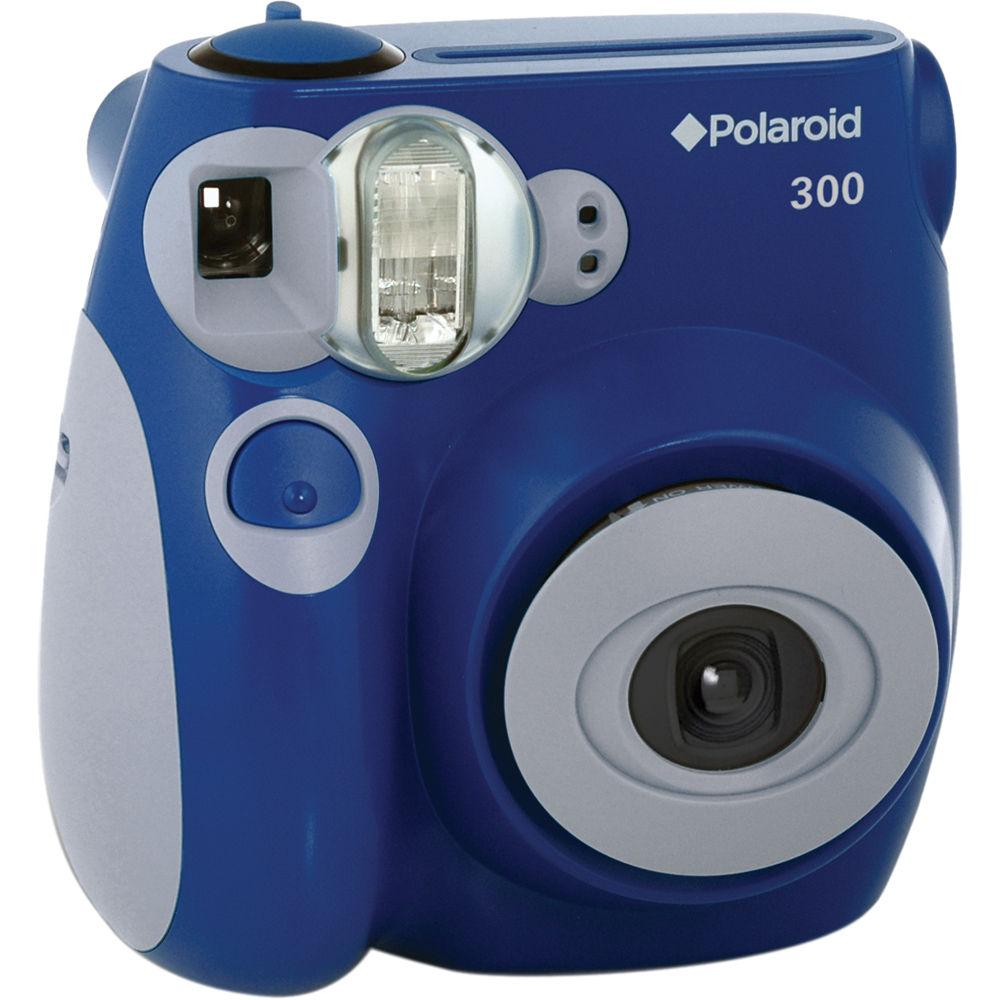 Polaroid 300 Instant Film Camera (Blue) POLPIC300BL B&H Photo