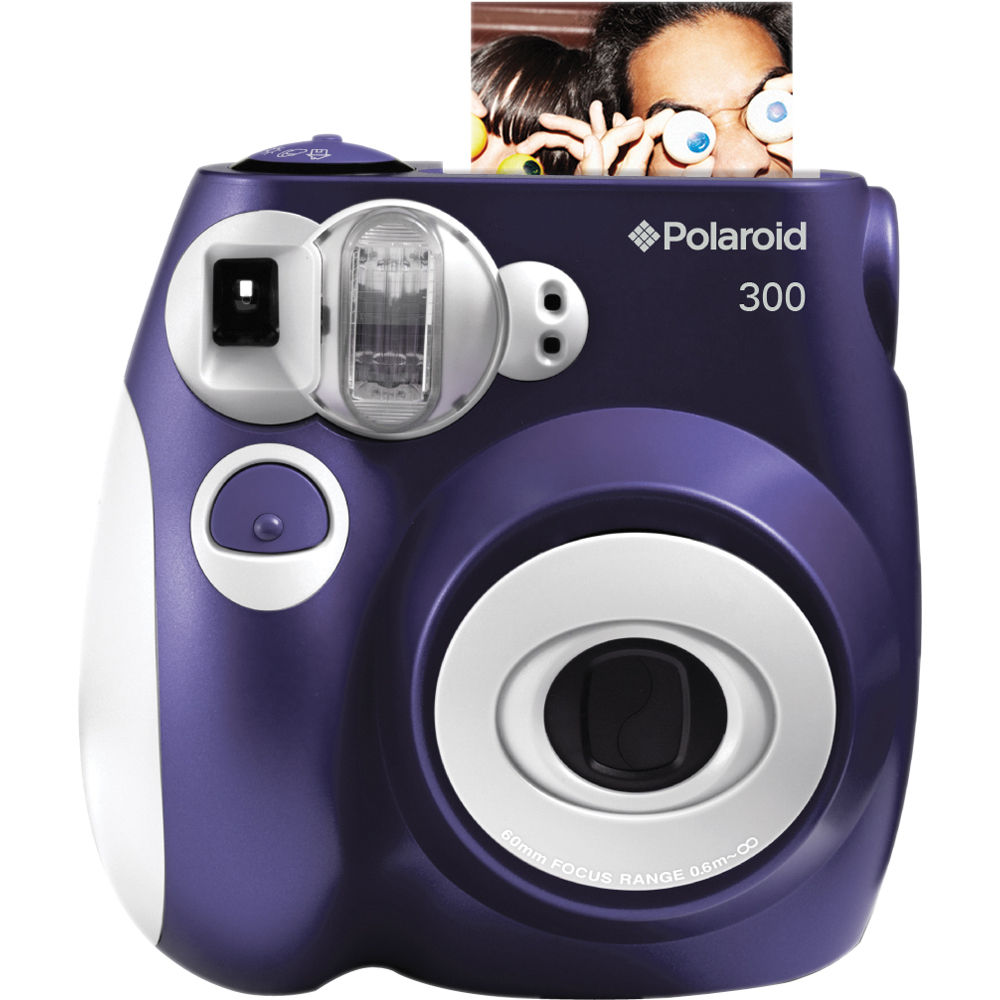 Polaroid 300 Instant Film Camera (Purple) POLPIC300P B&H Photo