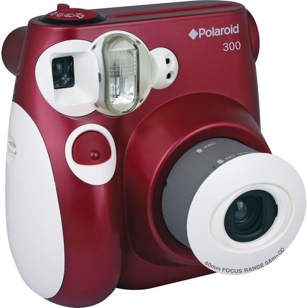Polaroid 300 Instant Film Camera (Red) POLPIC300R B&H Photo
