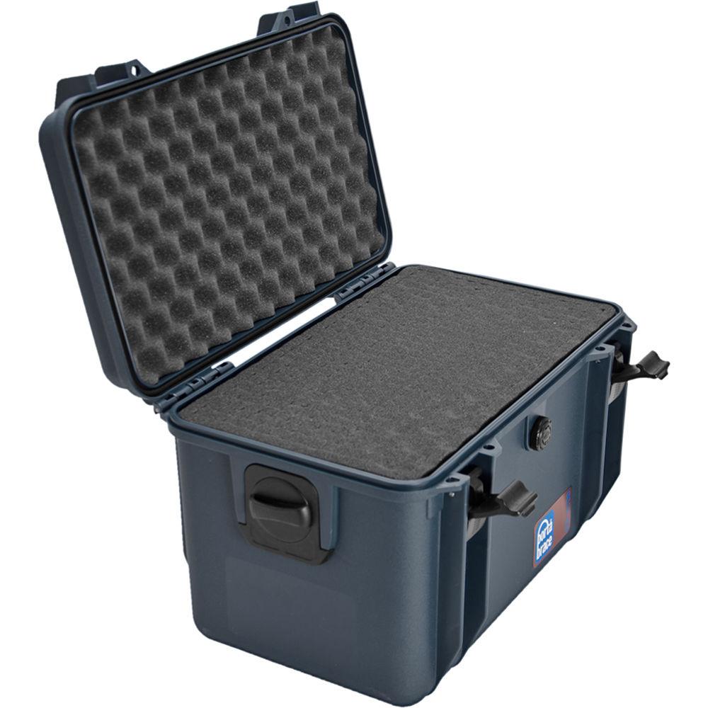 porta brace pb 4100f hard case with foam interior blue