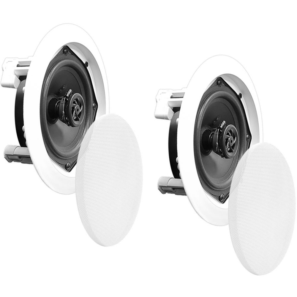 "Pyle Pro PDIC51RD 5 25"" Two Way In Ceiling Speaker PDIC51RD"