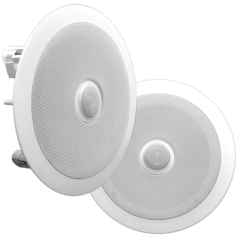 Pyle Pro Pdic60 6 5 Quot Two Way In Ceiling Speaker Pdic60 B Amp H