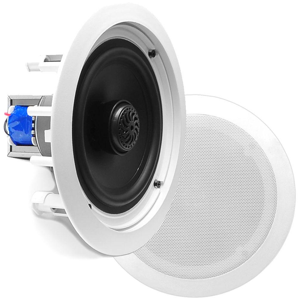 "Pyle Pro PDIC80T 8"" Two-Way In-Ceiling Speaker PDIC80T B&H"