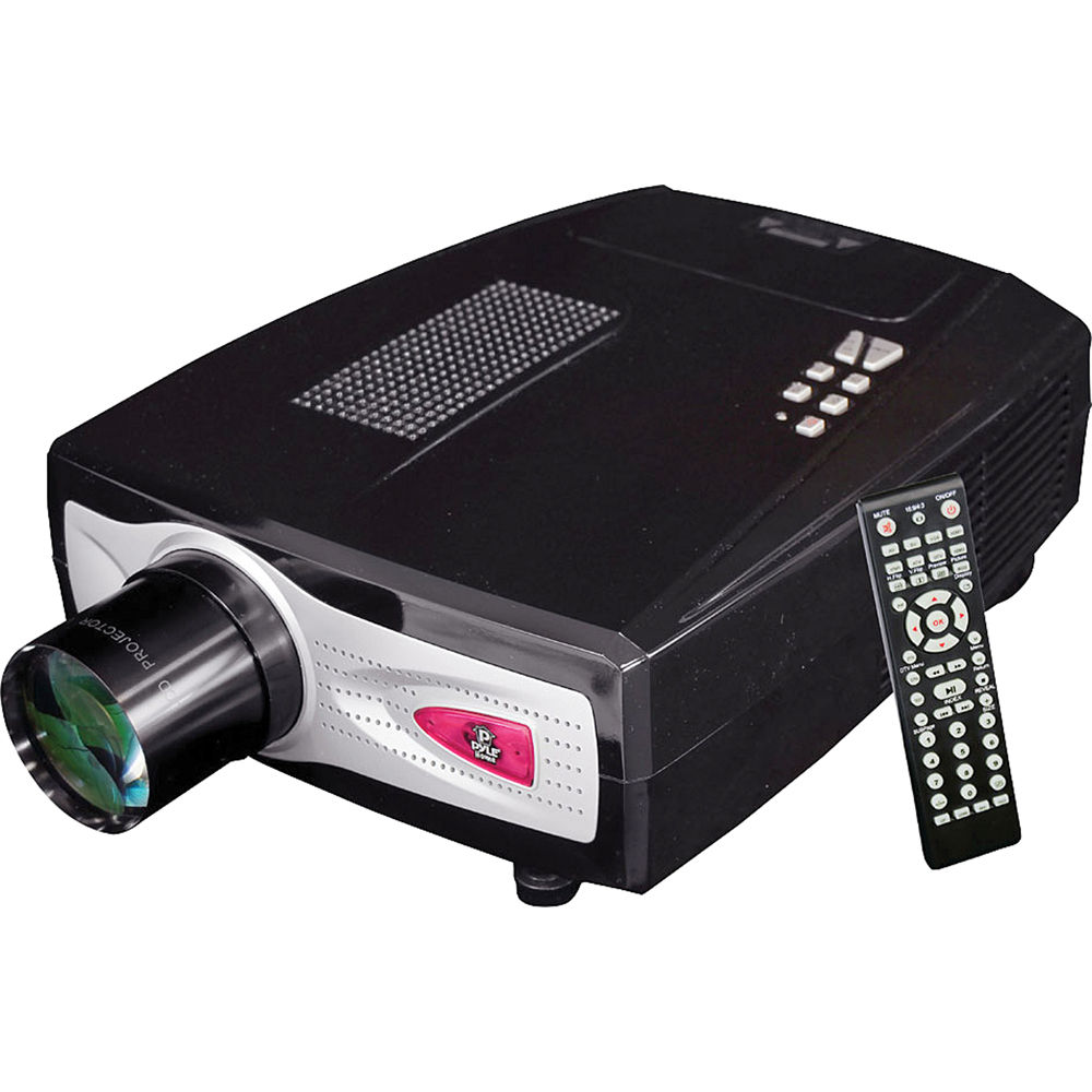 Pyle pro prjhd66 home office hd video projector prjhd66 b h for Hd video projector