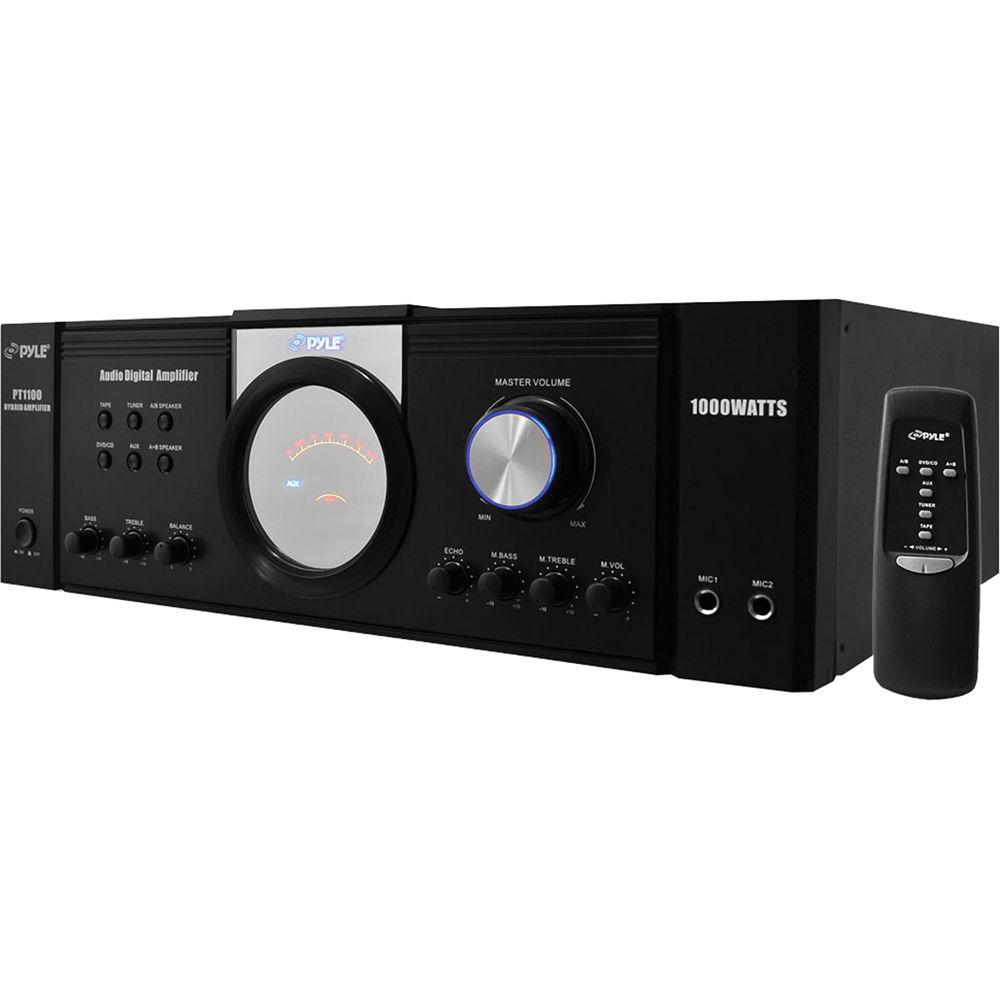 Pyle Home Audio Amplifiers Inteior Inspiration Pylehome Ptau45 Mini 2x120w Stereo Power Amplifier With Usb Cd Aux Pro Pt1100 1000w X 2 8ohms Peak Rh Bhphotovideo Com