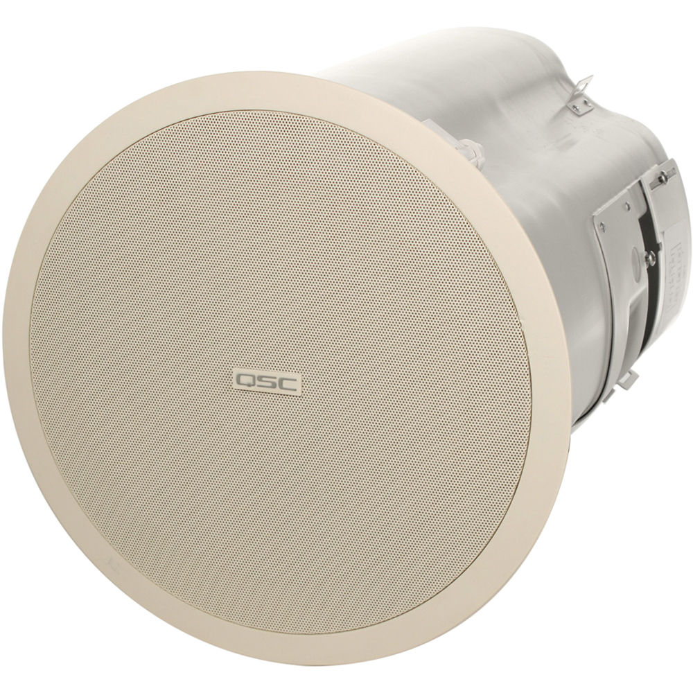 QSC AD-C81TW Ceiling Mount Subwoofer System (White) - QSC AD-C81TW Ceiling Mount Subwoofer System (White) AD-C81TW-WH