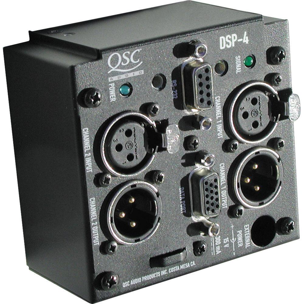 QSC DSP-4 Digital Signal Processing Module DSP-4 B&H Photo ...