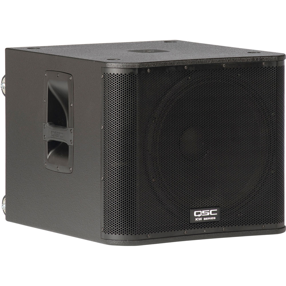 Qsc Kw181 1000w 18 Active Subwoofer Bh Photo Video Loudspeaker Protection And Muting