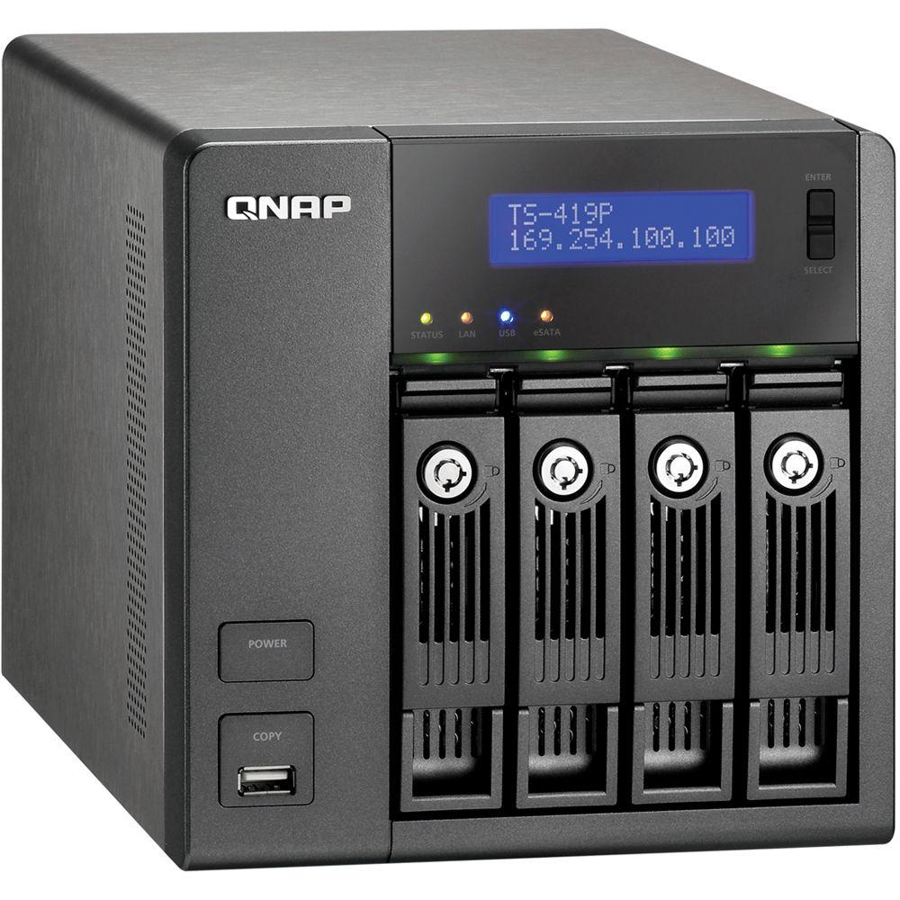 QNAP TS-419PII TurboNAS QTS Windows Vista 32-BIT