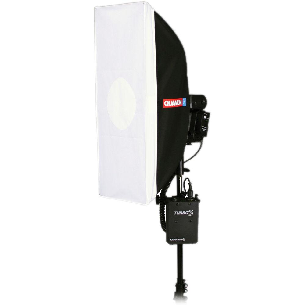 """Quantum Studio Lighting: Quantum Instruments QF76 10 X 24"""" Strip Softbox 860735 B&H"""