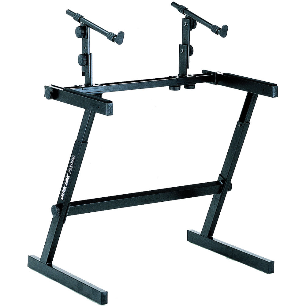 Quiklok z 726l two tier z stand extra wide z 726l for Stand 2 b
