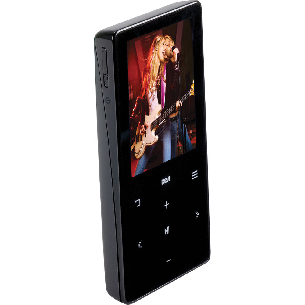 rca 4gb mp3 video player with 2 display m6204 b h. Black Bedroom Furniture Sets. Home Design Ideas