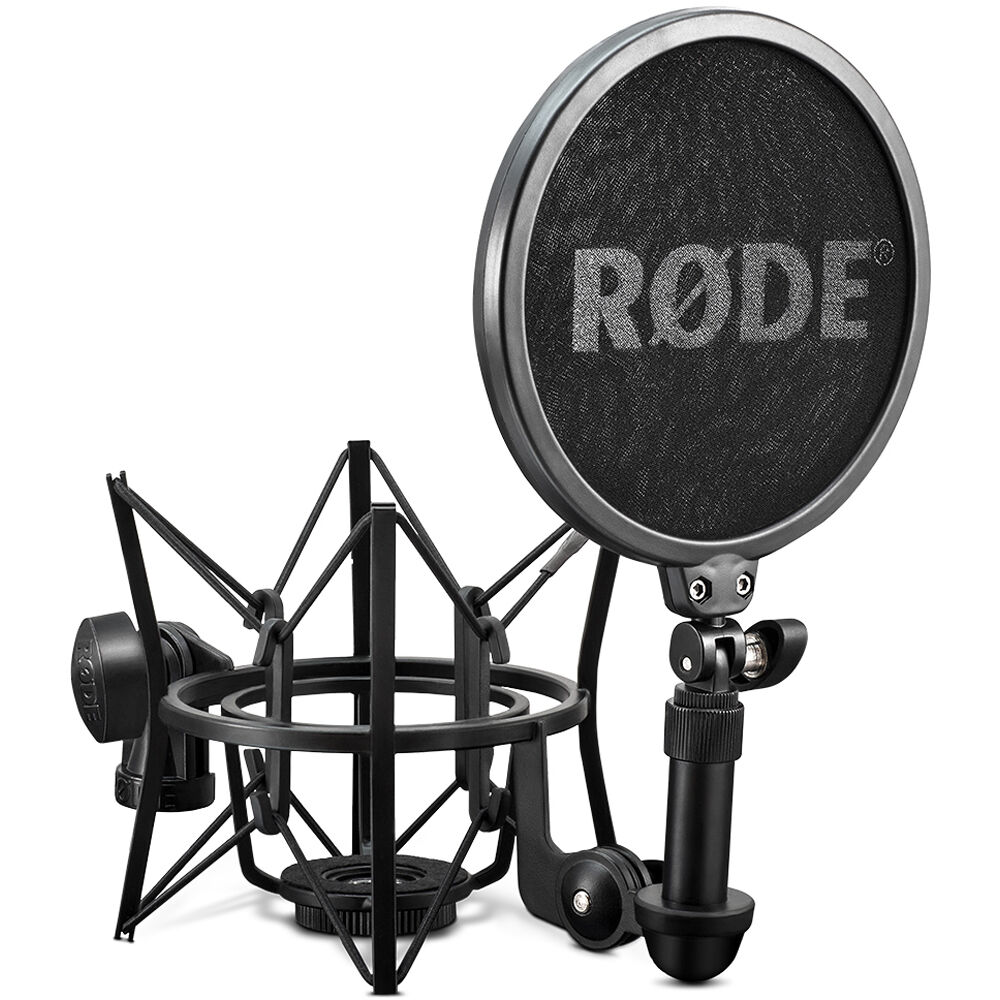 Rode Sm6 Shock Mount With Detachable Pop Filter Sm6 B Amp H Photo