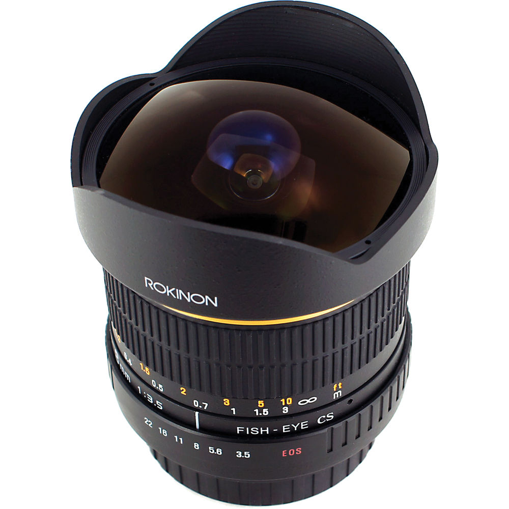 Rokinon 8mm Ultra Wide Angle F 3 5 Fisheye Lens For Sony