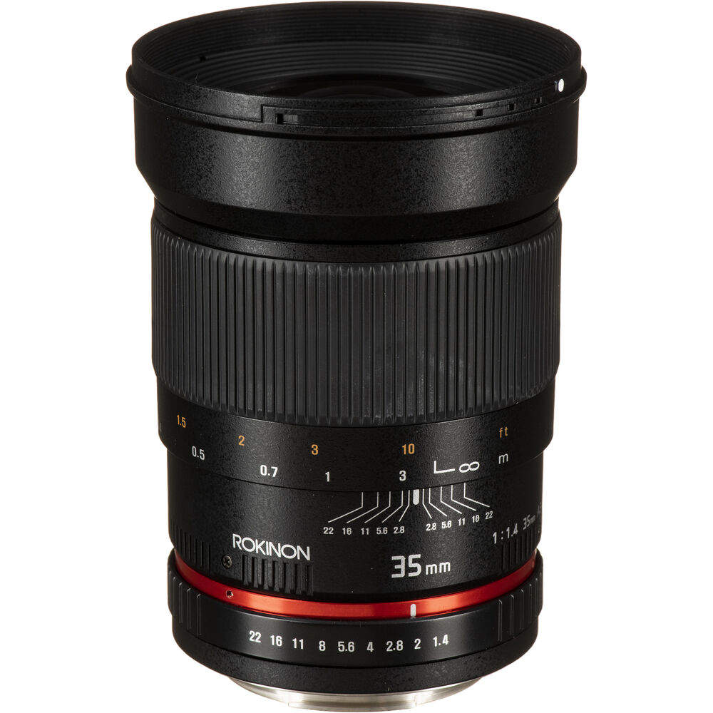 Rokinon 35mm f/1.4 UMC Aspherical Lens Review