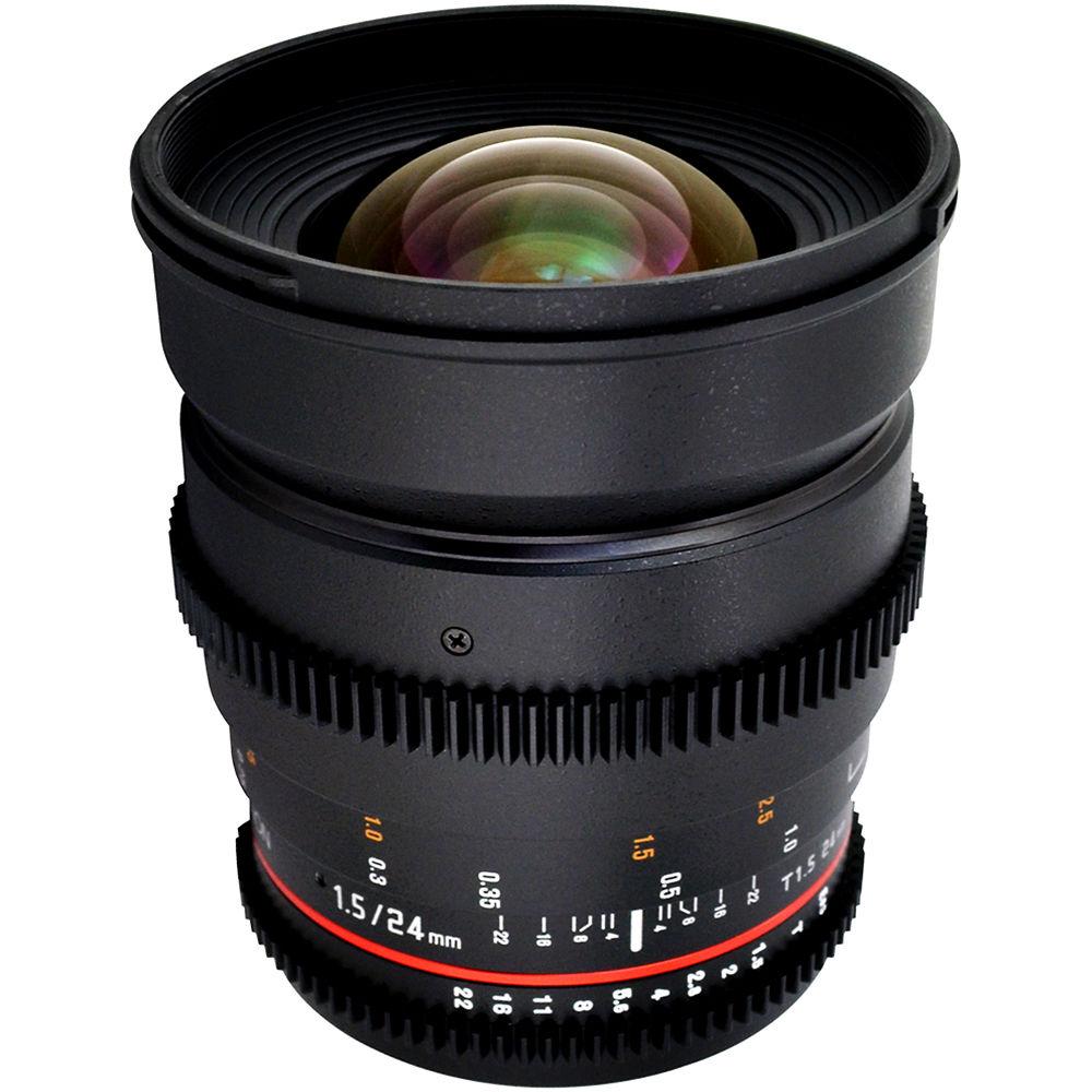 Rokinon 24mm T1 5 Cine Ed As If Umc Lens For Sony E Cv24m Nex