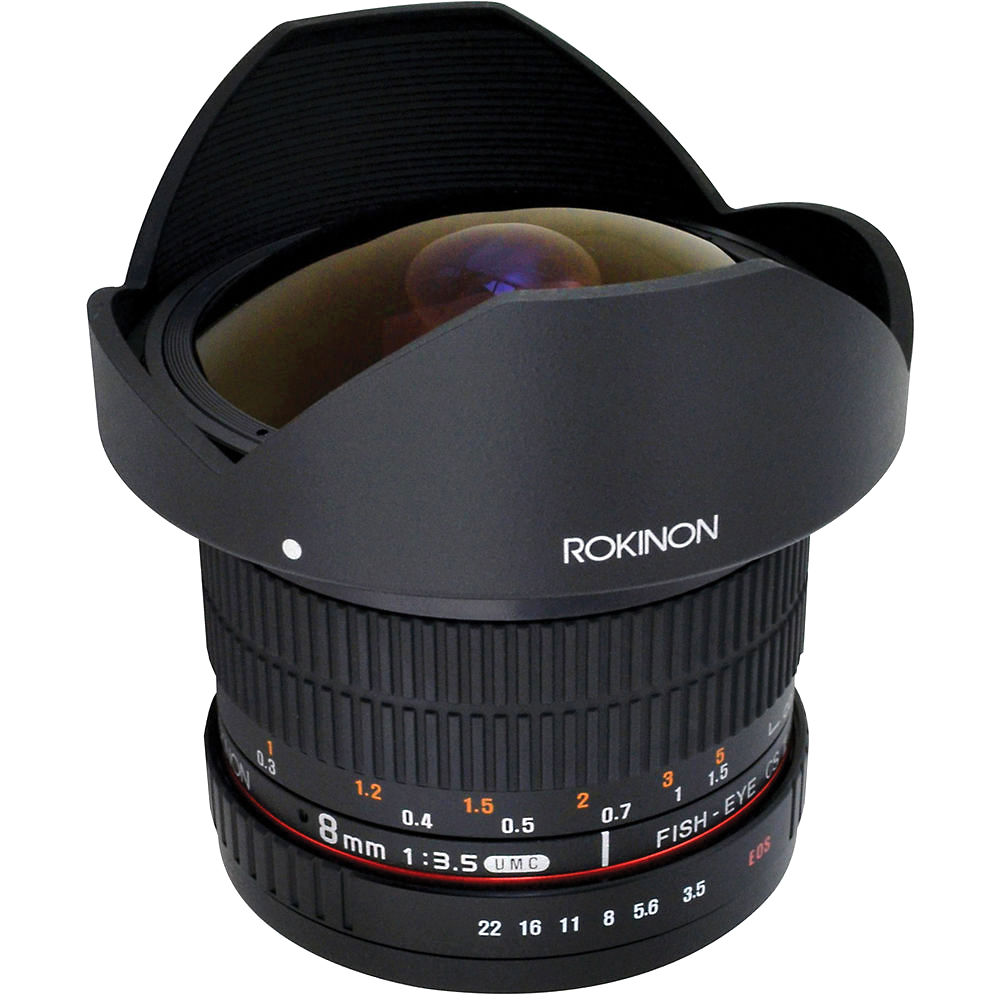 Fisheye lens: features of use 47