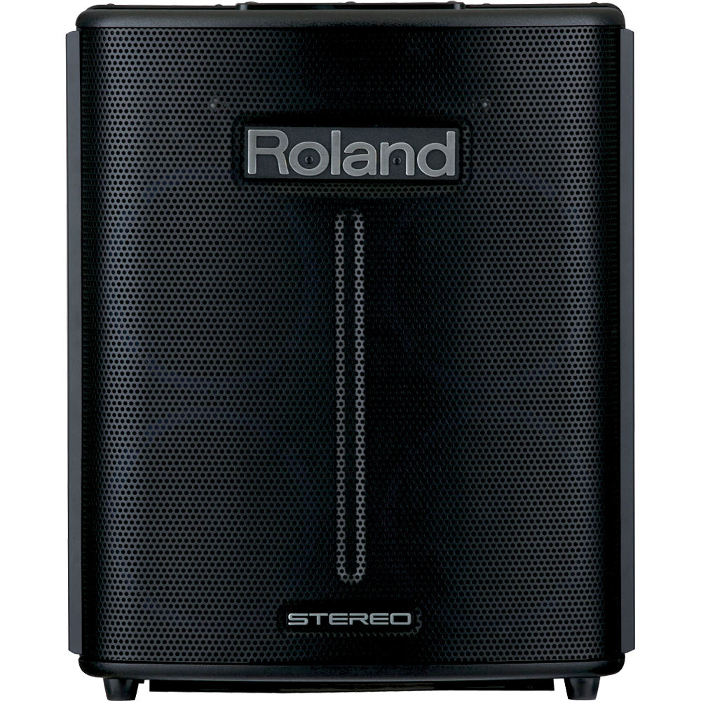 Roland Ba 330 Portable Stereo Pa Amplifier And Speaker Ba 330