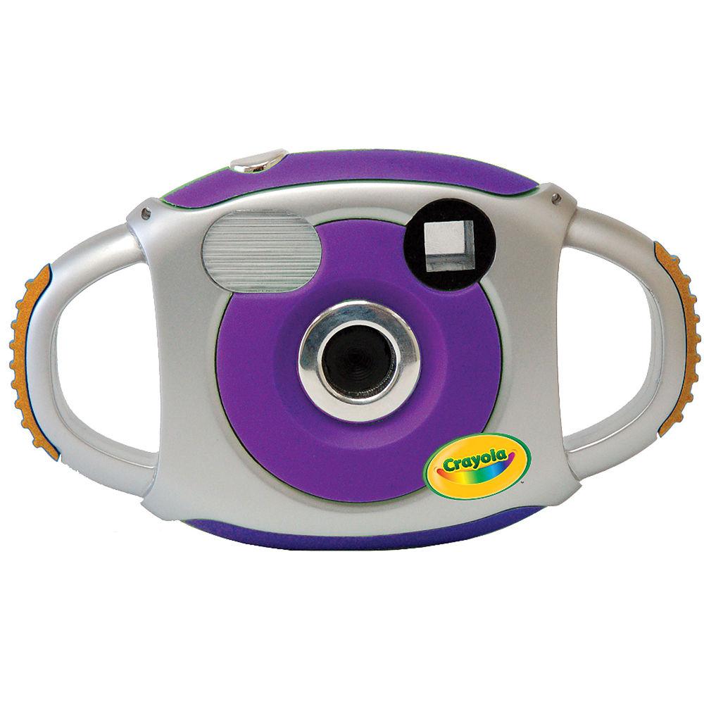 Sakar Crayola Kidz Digital Camera (Purple) 23072 B&H Photo ...