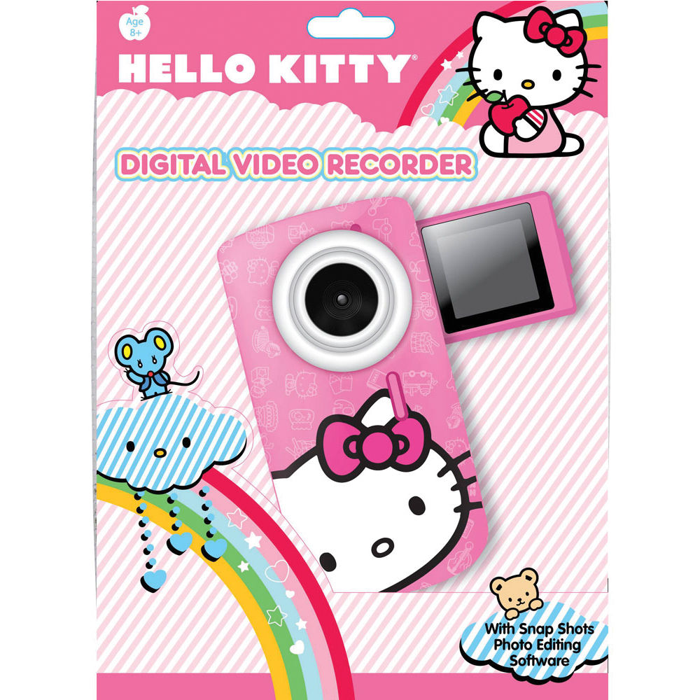 sakar hello kitty digital video recorder pink 38009 tru b h rh bhphotovideo com