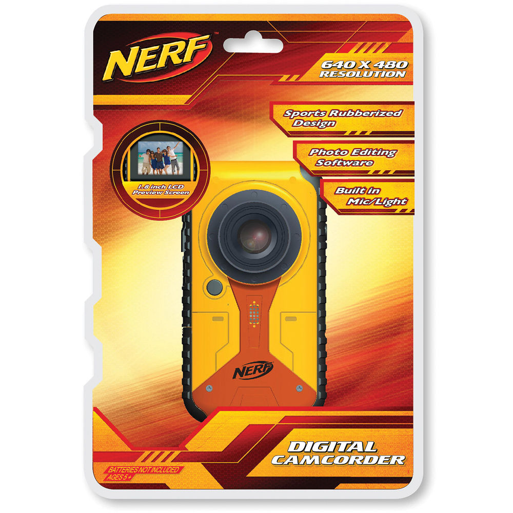 sakar nerf digital camcorder 38056 tru b h photo video rh bhphotovideo com
