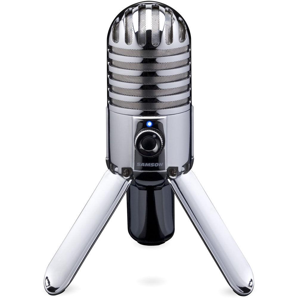 samson meteor mic usb studio microphone samtr b h photo video