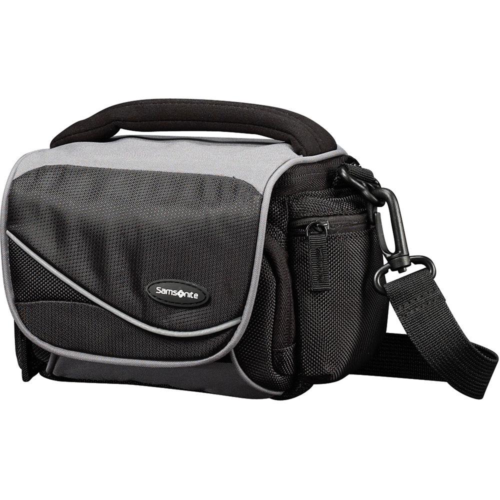 Samsonite Medium Horizontal Camera Bag Black Grey
