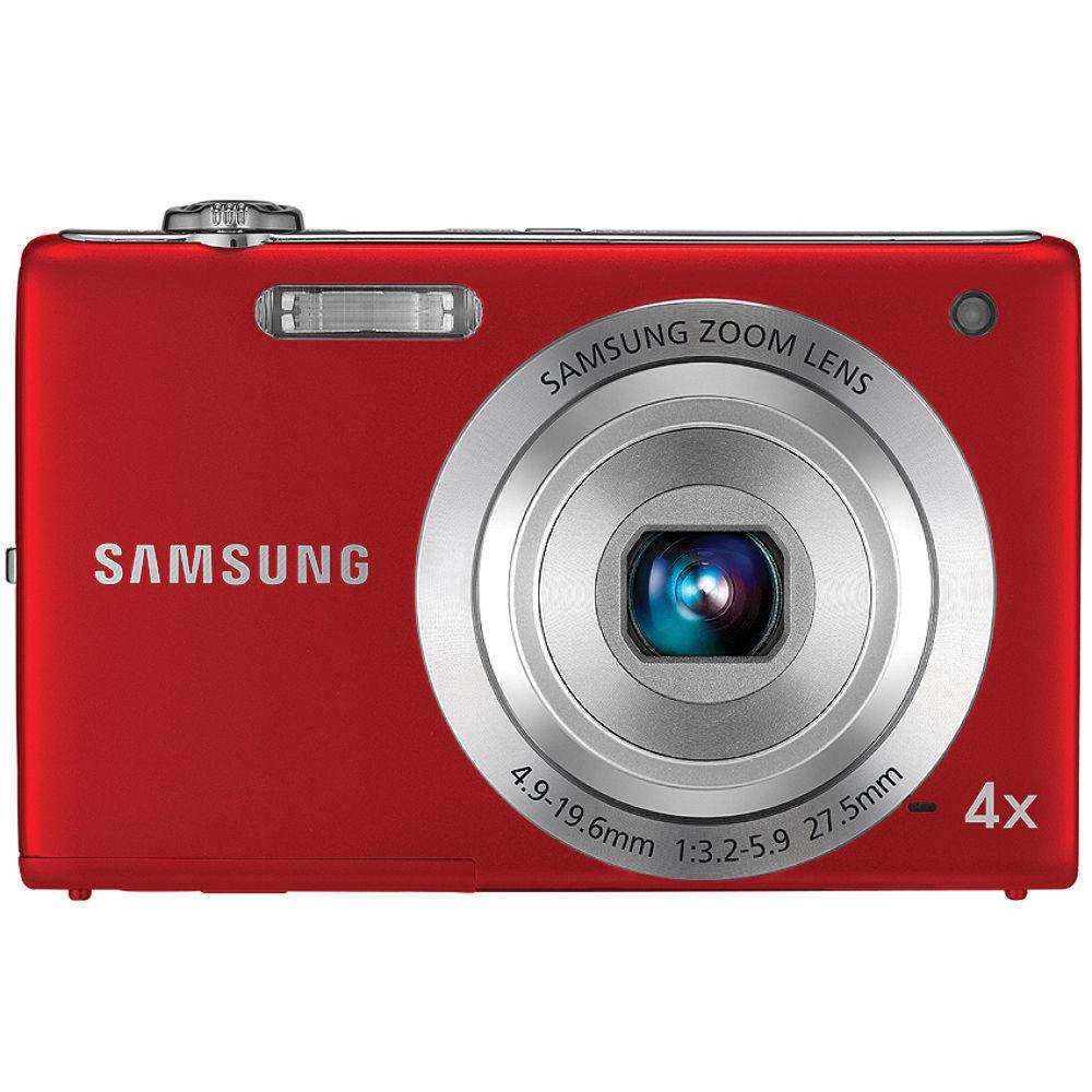 Samsung TL105 12MP Digital Camera (Red) EC-TL105ZBPRUS B&H Photo