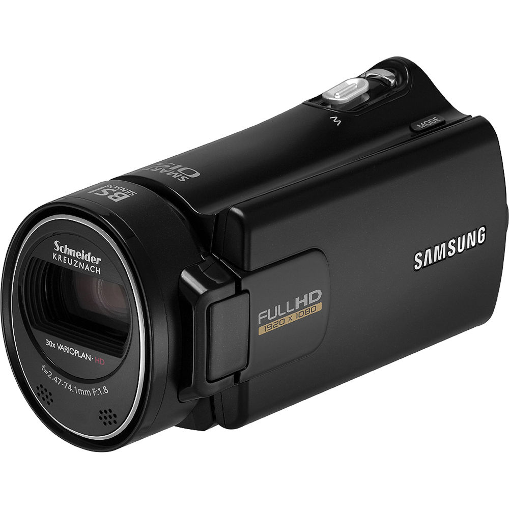 samsung hmx h300 full hd camcorder black hmx h300bn xaa b h rh bhphotovideo com Samsung HMX H300bn Samsung Schneider-Kreuznach Camcorder