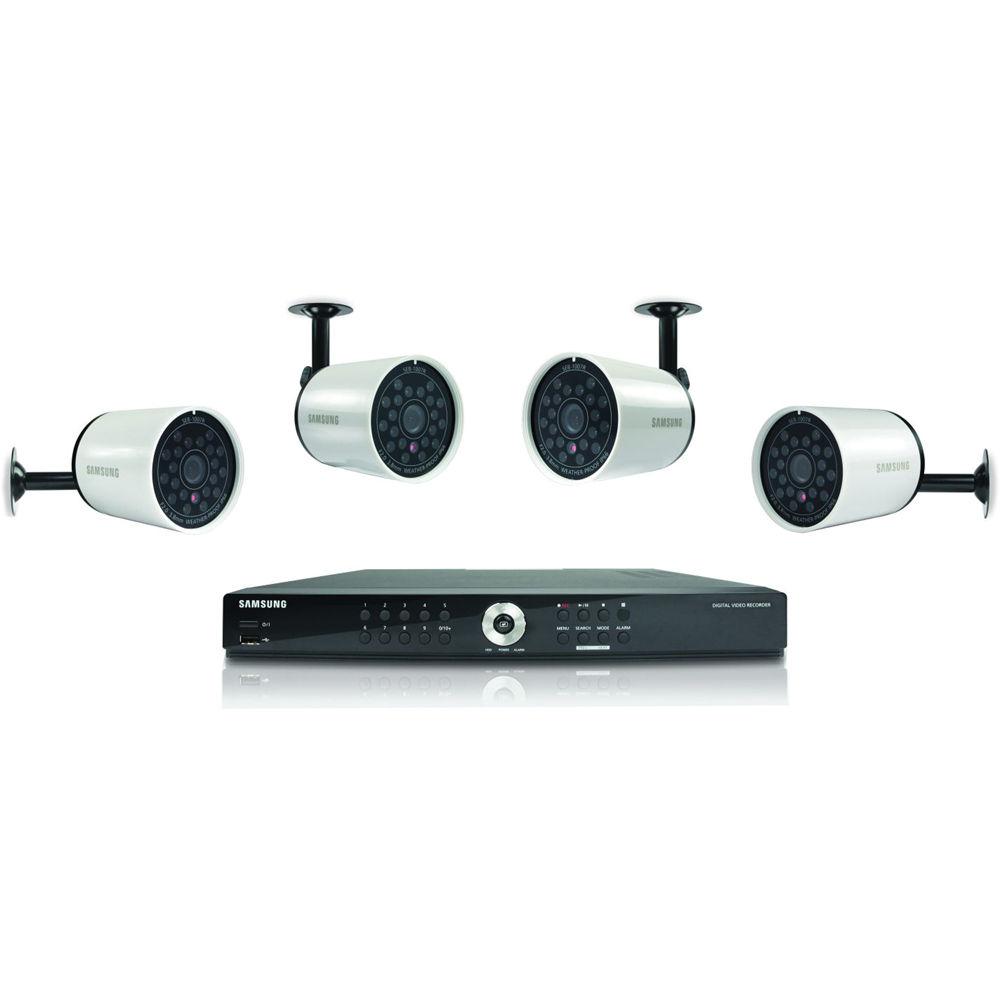 Samsung Sde 4004 8 Channel Dvr Security System Sde 4004 Bh