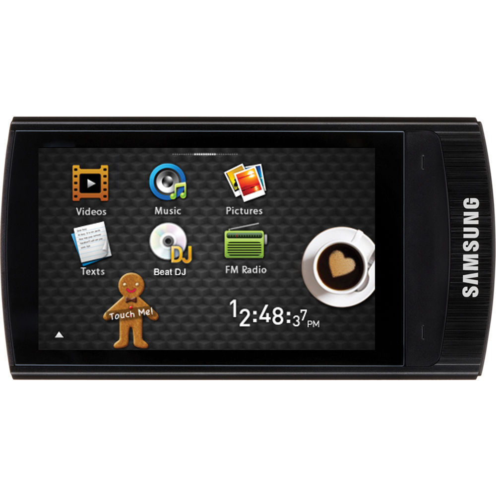 samsung r1 mp3 player black yp r1jcb xaa b h photo video. Black Bedroom Furniture Sets. Home Design Ideas