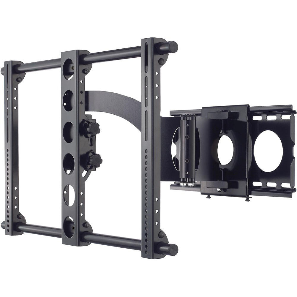 sanus full motion tv wall mount 32 to 63 mlf20 b1 b h. Black Bedroom Furniture Sets. Home Design Ideas