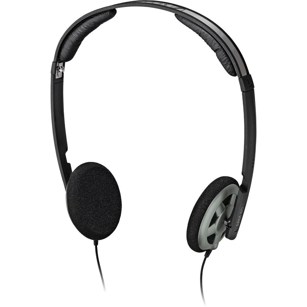 Sennheiser MM 60 iP On-Ear Stereo Headphones with Mic ...