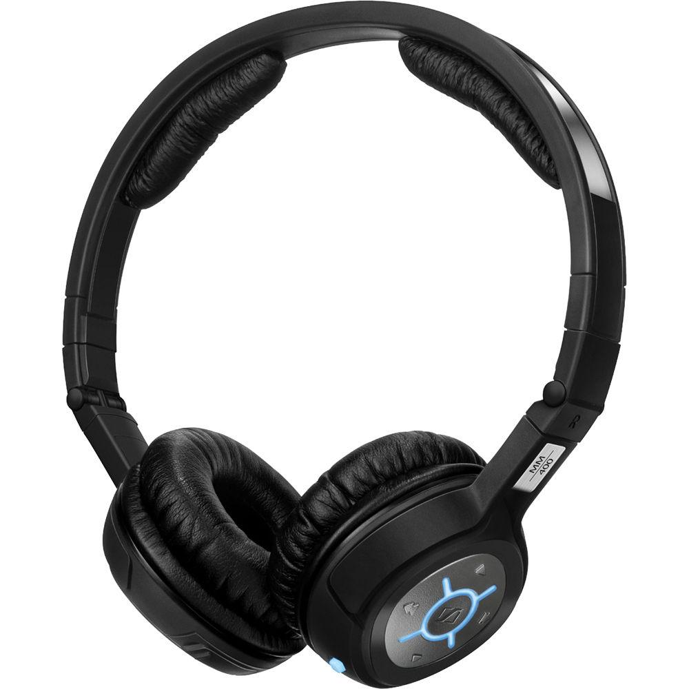 Headset With Bluetooth Stereo: Sennheiser MM 400-X Stereo Bluetooth Wireless Headset MM 400-X