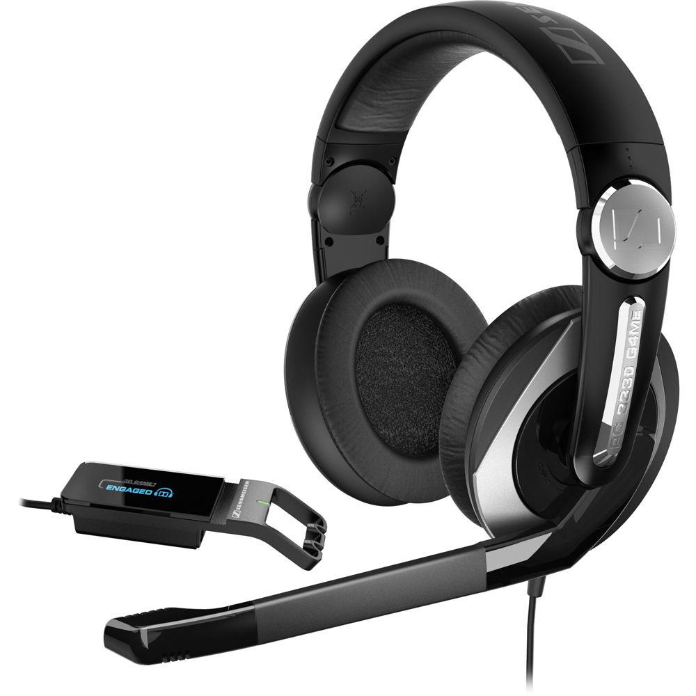 sennheiser pc 333d gaming headset pc333d b h photo video. Black Bedroom Furniture Sets. Home Design Ideas