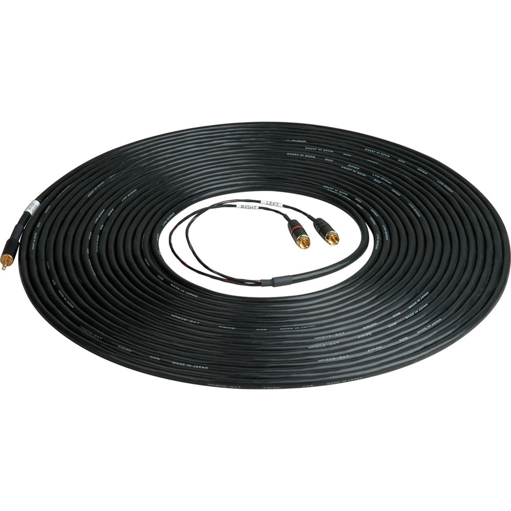 Sescom 50\' 3.5mm Mini Stereo to Dual RCA Cable M SES-IPOD-RCA50