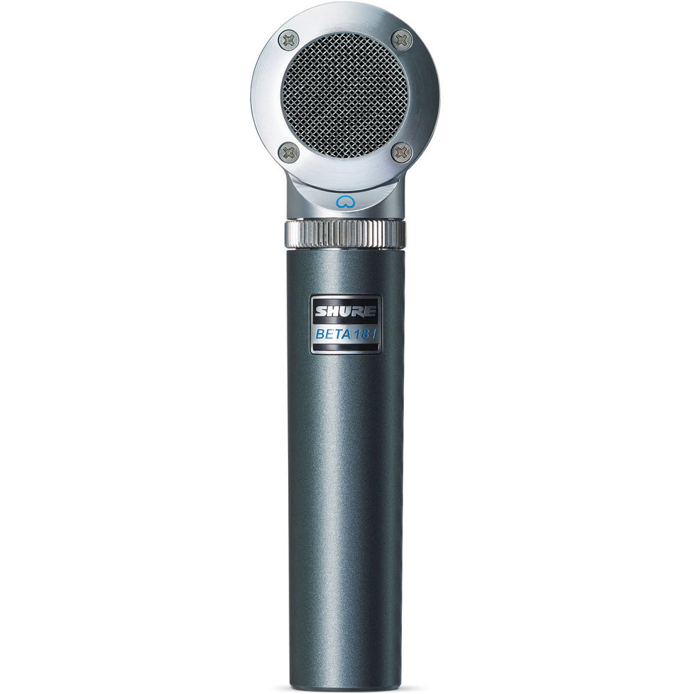 Shure BETA 181/C Cardioid Compact Side-Address Instrument Microphone