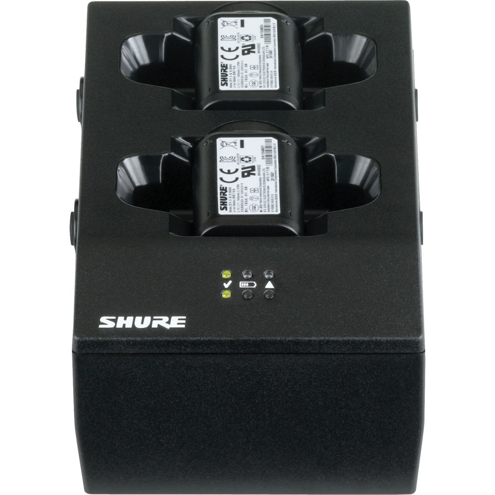 Shure Sbc200us Transmitter Battery Charger Sbc200 Us Bh Led Voltmeter 5012 Psu Batt Chargers Electronic Components With Power Supply